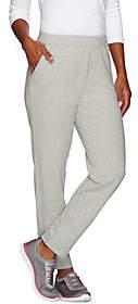 Denim & Co. Active RegularFrench Terry SlimLeg Pants