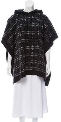 Haute Hippie Wool Knit Poncho