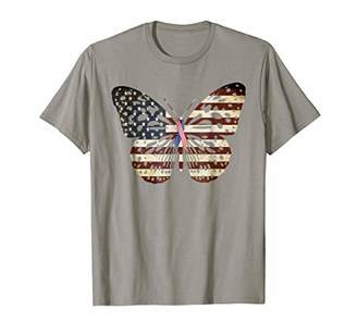 Breast cancer Awareness Butterfly American flag - Kid's Moi