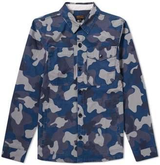 Barbour Heritage Camo Heavy Overshirt Jacket