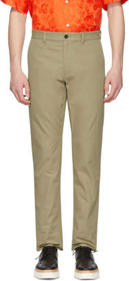 MSGM Khaki Trousers