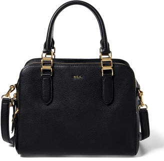 Ralph Lauren Pebbled Leather Callie Satchel