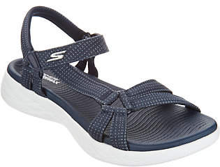 Skechers GO Walk Move Quarter Strap Sandals- Brilliancy