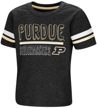 Colosseum Purdue Boilermakers Sleeve Stripe T-Shirt, Toddler Boys (2T-4T)