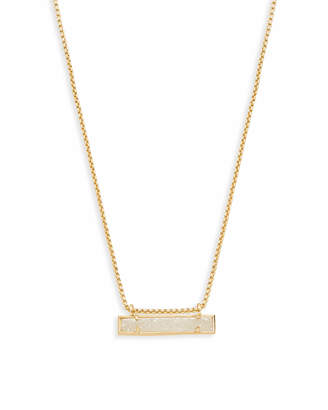 Kendra Scott Leanor Bar Pendant Necklace in Gold