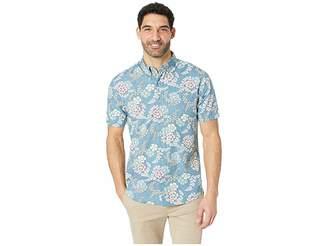 Reyn Spooner Furoshiki Floral Tailored Aloha Shirt