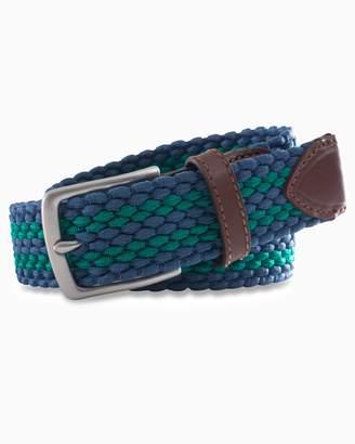 DAY Birger et Mikkelsen Southern Tide Braided Elastic Striped Web Belt