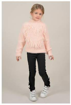 Mini Molly Heart Sparkly Sweater