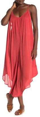 Elan International Asymmetrical Sleeveless Jumpsuit