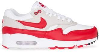 Nike AQ1273 100 White/University Red Leather