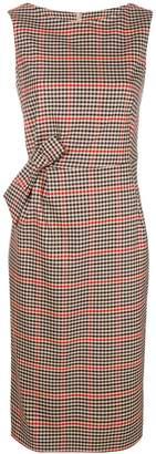 P.A.R.O.S.H. checkered print dress