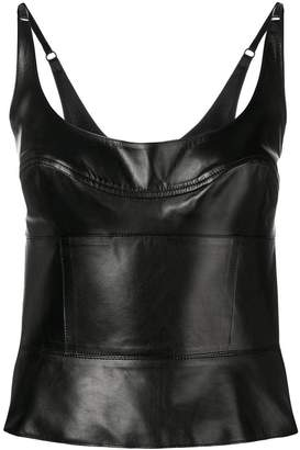 Ermanno Scervino leather top