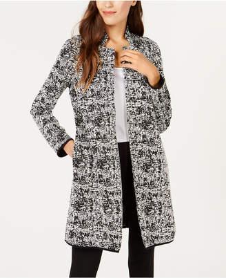 Alfani Jacquard Pipe-Trim Jacket, Created for Macy's