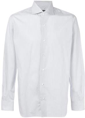 Barba embroidered fitted shirt