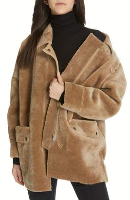 Free People Lindsay Faux Fur Coat