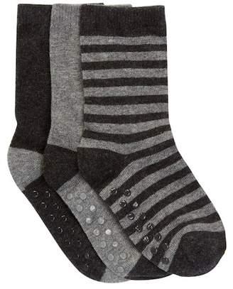 Joe Fresh Basic Crew Socks - Pack of 3 (Toddler Boys)