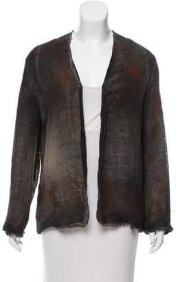 Avant Toi Linen-Blend Jacket w/ Tags