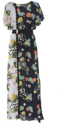 Class Roberto Cavalli Class Roberto Cavallini Floral Dress