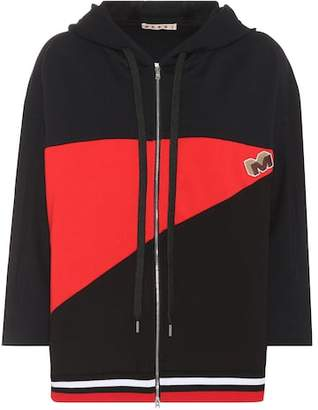 Marni Cotton-blend hoodie