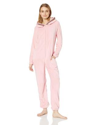 Body Candy Womens Comfy Animal Hooded Plush Onesie Critters