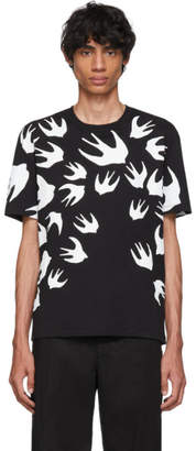 McQ Black Swallow Signature T-Shirt