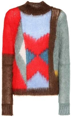 Chloé Mohair and wool-blend sweater