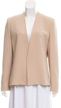 Max Mara Structured Open Front Blazer