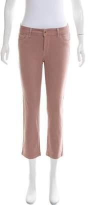 DL1961 Mid-Rise Straight-Leg Pants