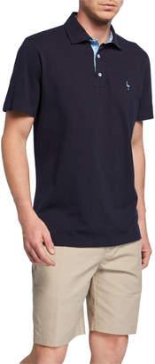 Tailorbyrd Short-Sleeve Half-Button Polo
