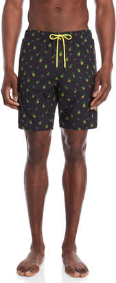 Sovereign Code Printed Cannonball Swim Trunks