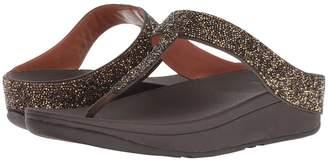 FitFlop Fino Quartz Toe Thong Sandals Women's Shoes