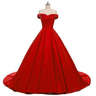 66936101c1 Miao Duo Women s Sweetheart Prom Celebrity Dresses Maxi Wedding Formal  Party Gowns 0