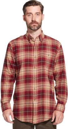 Arrow Men's Saranac Classic-Fit Plaid Flannel Button-Down Shirt