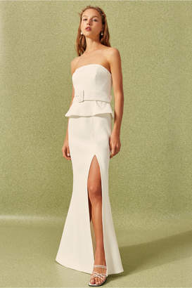 C/Meo Collective MODE GOWN ivory