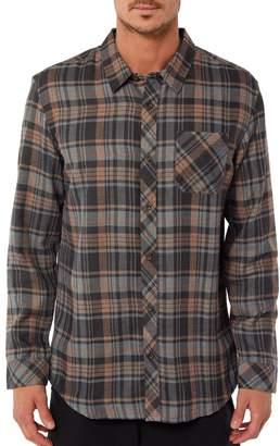 O'Neill Jack Shelter Plaid Flannel Shirt
