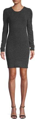 BCBGeneration Puff Sleeve Bodycon Dress