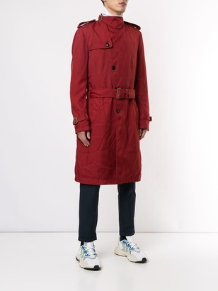 Kolor belted trench coat