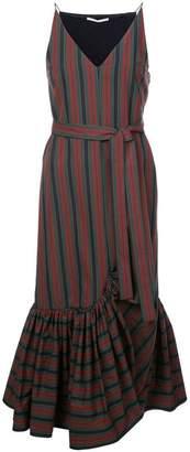 Rosetta Getty striped midi dress