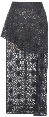 Stella McCartney Cotton lace skirt