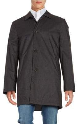 Hart Schaffner Marx Reversible Rain-Repellent All-Weather Coat