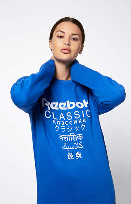 Reebok Fleece Crew Neck Sweatshirt