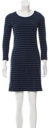 A.L.C. Long Sleeve Striped Dress