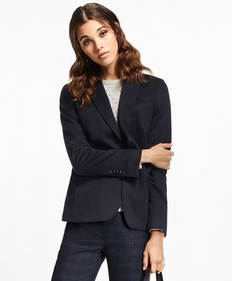 Brooks Brothers Petite Two-Button Cashmere Blazer