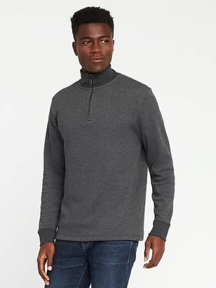 Old Navy Double-Knit 1/4-Zip Pullover for Men
