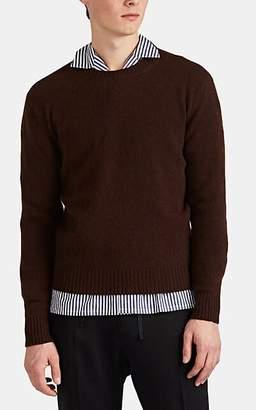 Barneys New York Men's Mélange Cashmere Crewneck Sweater - Rust