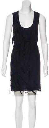 Maiyet Embellished Mesh Dress