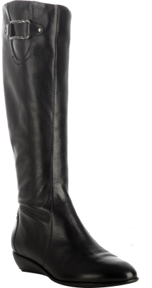 Cole Haan black leather 'Air.Neesa' tall boots