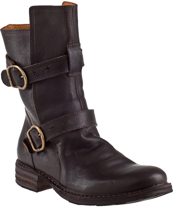 Fiorentini+Baker 713 Eternity Mid-Shaft Boot Black Leather