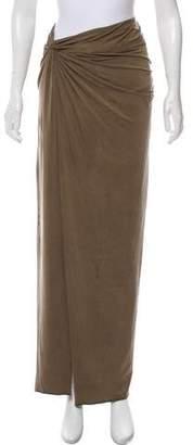 Helmut Lang Maxi Wrap Skirt