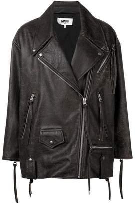 MM6 MAISON MARGIELA zip fastened jackety